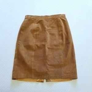 Vintage Forenza Leather Pencil Skirt 11